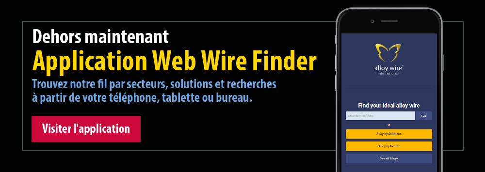 Dehors maintenant Application Web Wire Finder